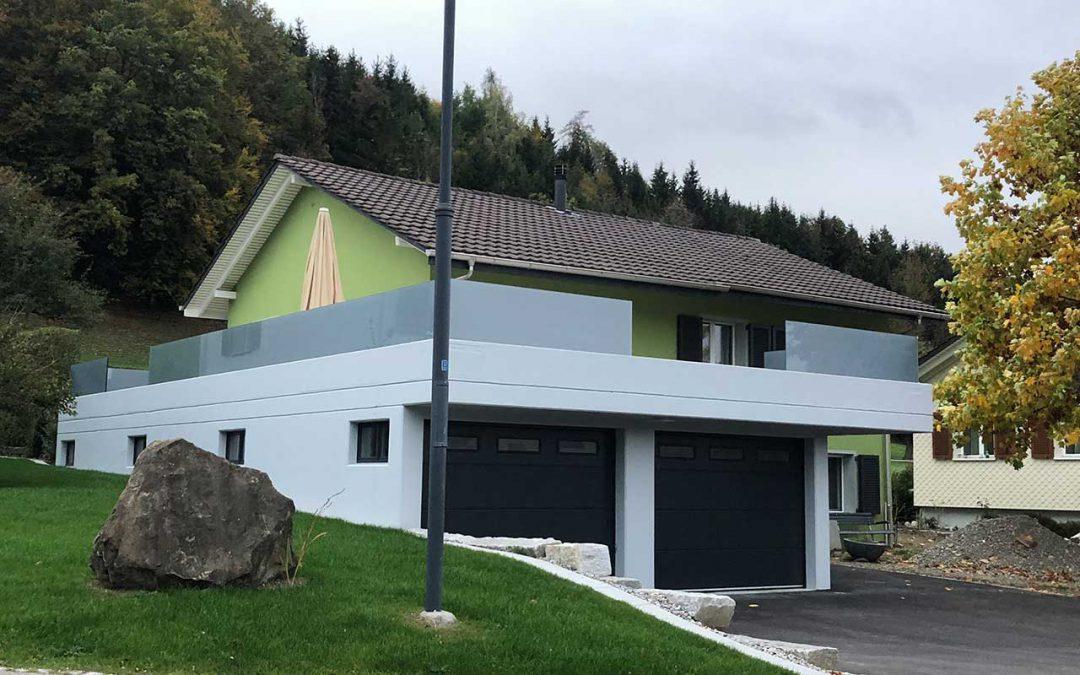 Garageanbau Dussnang, 2018